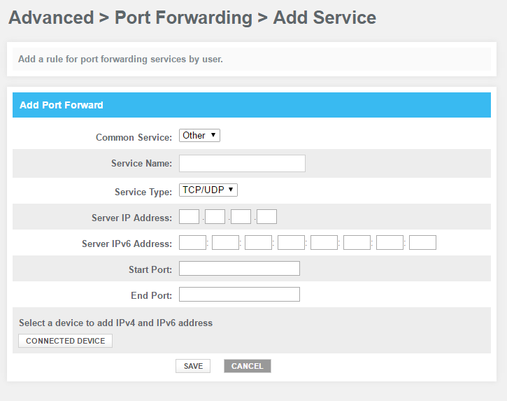 Port Forwarding on Xfinity router - Support