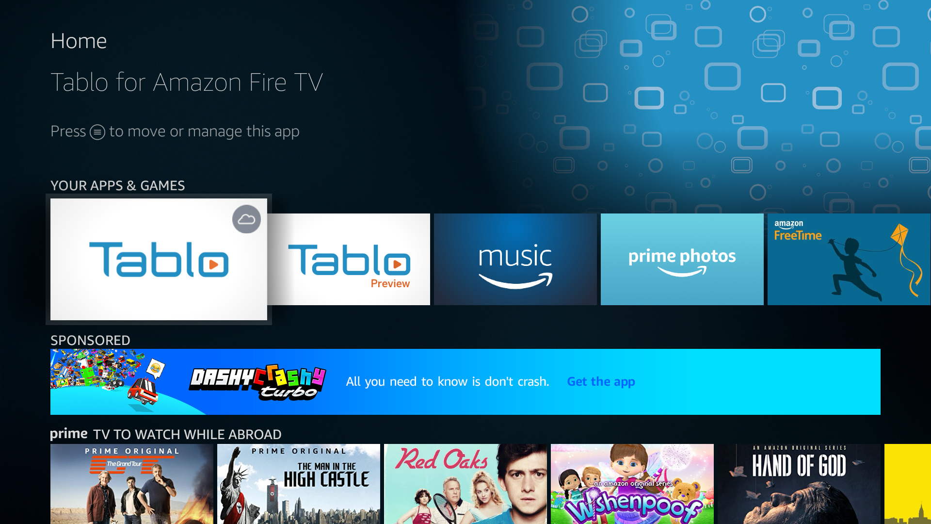 NEW - Tablo Amazon Fire TV/Android TV App Update (v  1 6 8