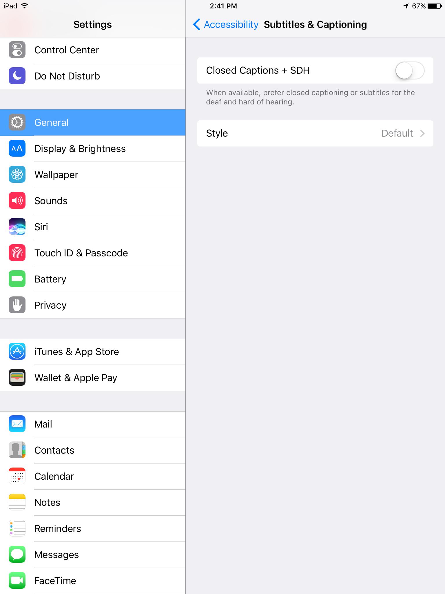 Help can 39 t turn off cc closed caption ipad mini - 1536x2048 ipad ...
