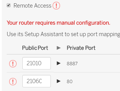 ATT 5268AC router Port Forwarding issue - Support