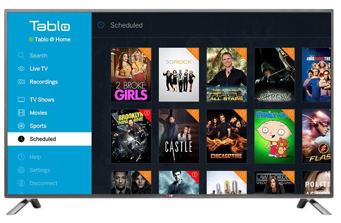 new tablo app for lg webos 2 0 and 3 0 smart tvs. Black Bedroom Furniture Sets. Home Design Ideas