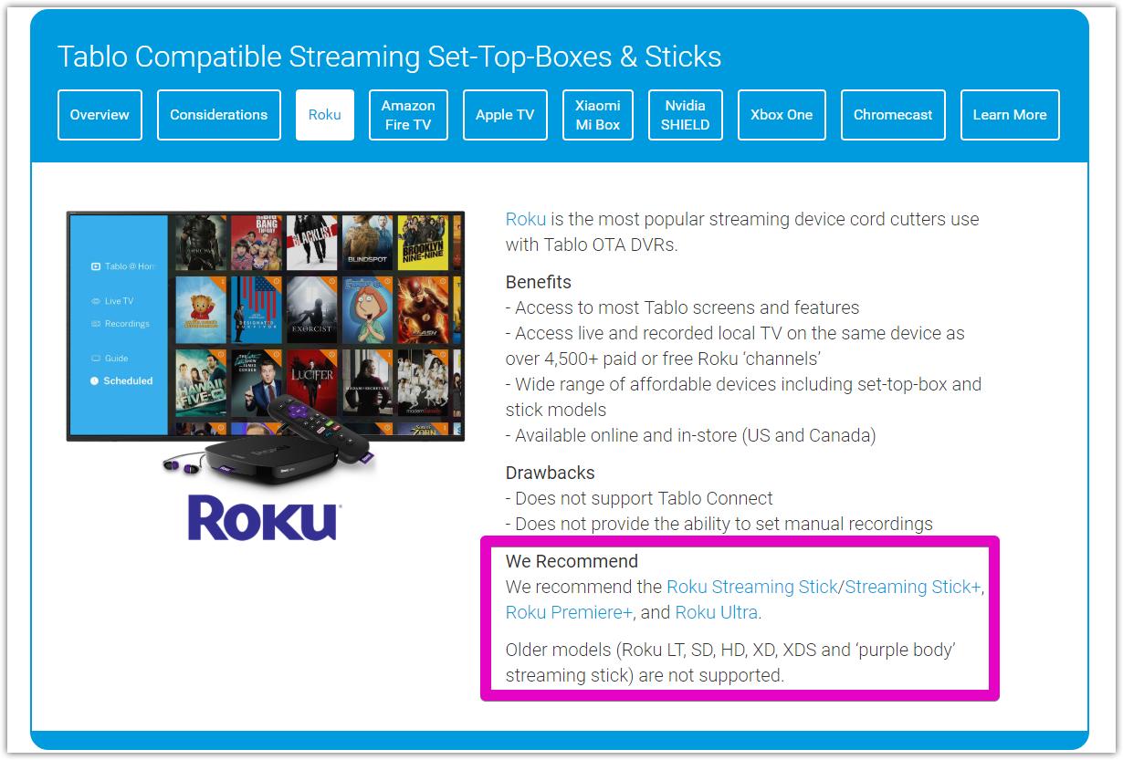 Roku LT Buffering - Support & Troubleshooting - TabloTV