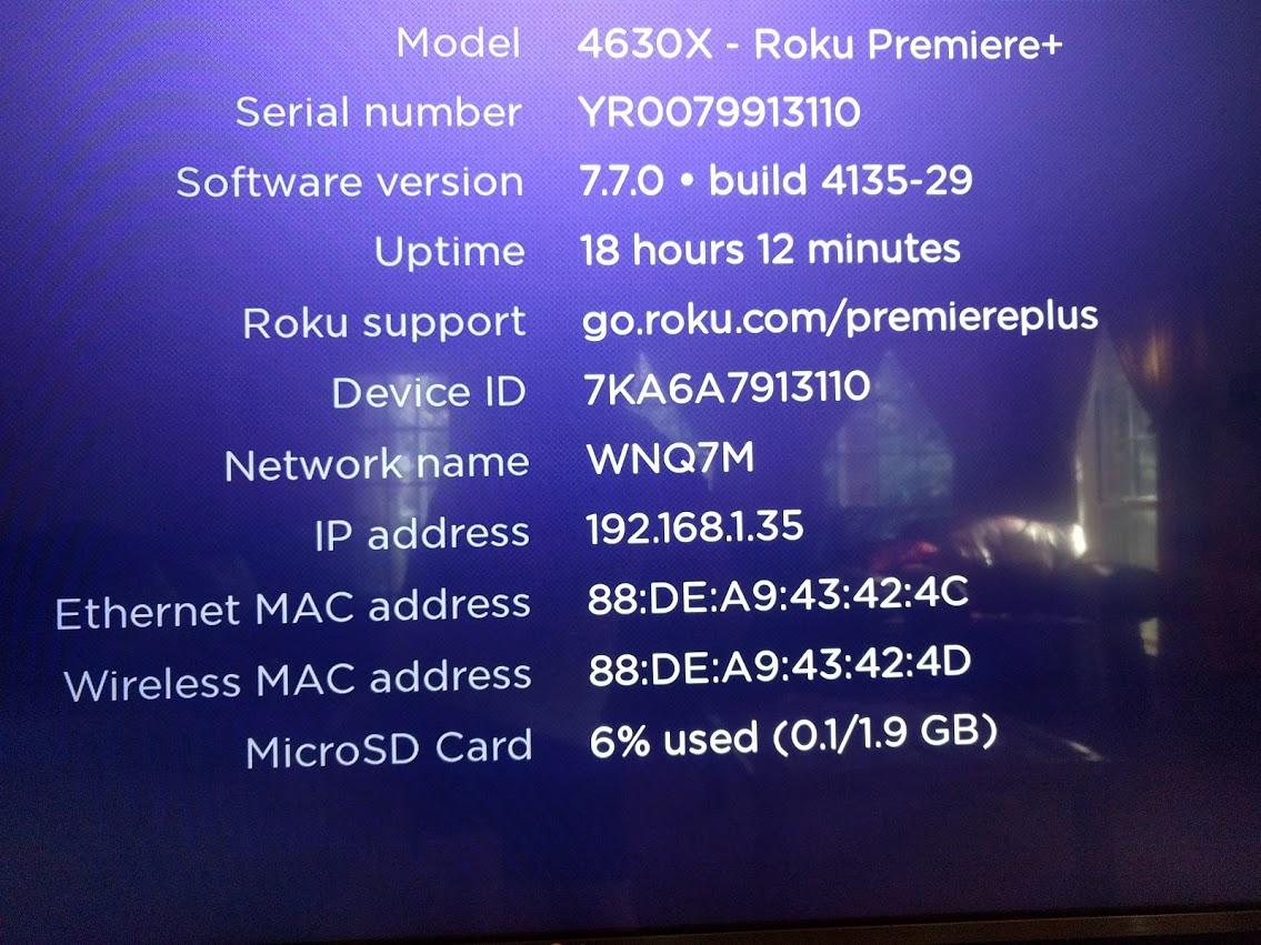 Tablo Roku interface crashes to Roku Home screen - Support