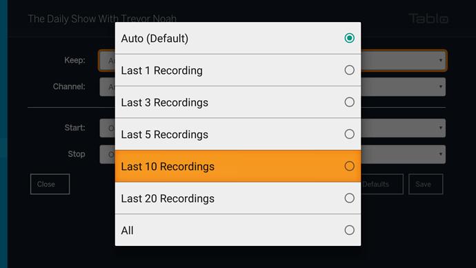 NEW - Tablo Android TV & Amazon Fire TV App Update (1 5 0